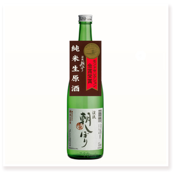 朝しぼり 純米酒 720ml