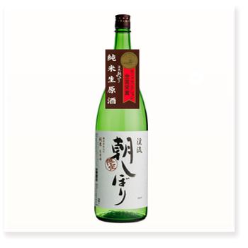 朝しぼり 純米酒 1800ml