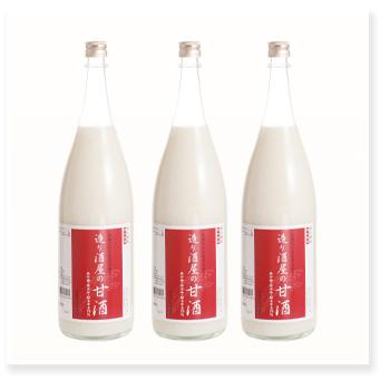 造り酒屋の甘酒 1800ml×3本セット