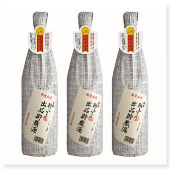 朝しぼり 出品貯蔵酒 1800ml×3本セット
