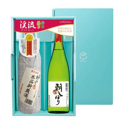 渓流 朝しぼり 大吟醸 720ml/朝しぼり 出品貯蔵酒900ml