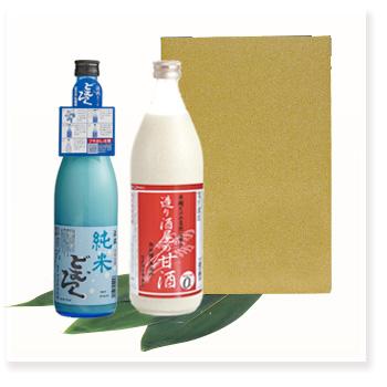 甘酒900ml+どむろく純米720ml×1本
