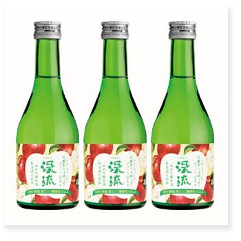 渓流 高リンゴ酸 純米吟醸 300ml × 3本